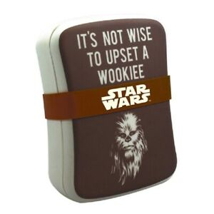 Star Wars Brotdose Brotbox Lunchbox Sandwichdose Chewbacca Wookiee Braun
