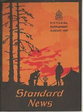 Standard Telephones Cables Staff Magazine 1939 ARP supplement Sir John Anderson