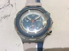 Swatch Aquacrono Oval Sbm 400 Watch New Vintage Years 98 Case mm 43.40