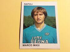 MARCO MASI NAPOLI FIGURINA ALBUM CALCIO FLASH '84 n°179 rec