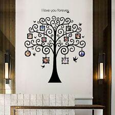 Wandtattoo Wandsticker Baum Foto Wanddesign Fotorahmen Wohnzimmer Dekor #150