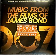 Music From the Films of James Bond [FYE Exclusive Gold Vinyl] LP Vinyl Record