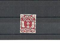 Danzig, Gdansk, Port Gdansk, 1921 Michelnummer: 81 o, gestempelt o