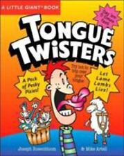 Tongue Twisters by Mike Artell and Joseph Rosenbloom (2007, Paperback) S4683