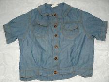 Kurzarm Mädchen-Tops, - T-Shirts & -Blusen mit Größe 104 ohne Muster