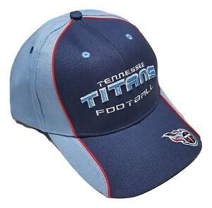 Reebok Tennessee Titans Logo Cap Adjustable Hat NFL Team Colors