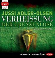 JUSSI ADLER-OLSEN - VERHEIßUNG.DER GRENZENLOSE 2 MP3 CD NEW