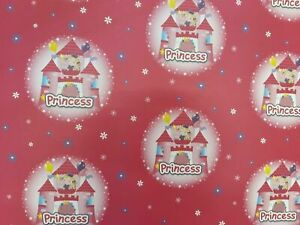 Princess Wrapping Paper Birthday Gift Wrap Pink Party Wrap Pass The Parcel