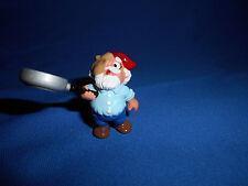 Kitchen Gnome Frying Pan Pancake Plastic Figurine Kinder Surprise Zwerge Lupin