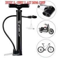 120PSI MINI Bicycle Bike Pump Motorcycle Bike Air Pressure Tyre Ball Inflator