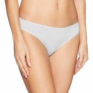 Calvin Klein Women's Form Bikini, Large, White