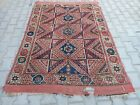 Antique West Anatolian Hand-made Rug/Hand-knotted Wool Rug/Free shipping