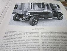 Internationales Automobil Archiv 1 Geschichte 1020 Invicta Automobile 1925 UK