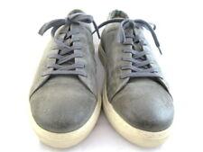 """Allen Edmonds """"CANAL COURT"""" Sneakers 12 D Grey Suede (141)"""