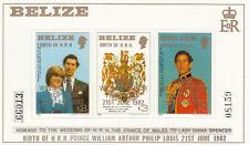 (13585) Belize MNH Prince William Birth 1982 unmounted mint