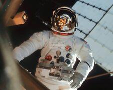 ASTRONAUT JACK LOUSMA IN SPACE SUIT DURING SKYLAB 3 EVA 8X10 NASA PHOTO (AA-096)