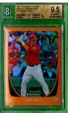 2011 Bowman CHROME #175 Mike Trout ORANGE REFRACTOR RC 14/25 SUPER $$$$ ROOKIE
