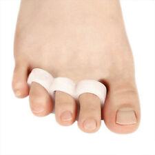 2 Stück Gel Zehenspreizer Ballenschutz Fuß Schutz Zehentrenner Schmerzlinderung