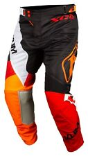 Klim XC Lite MX-Hose Orange Krush 34 Motocross Enduro Pants leicht gelocht