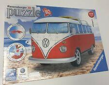 ! nuevo! Ravensburger 3D Puzzle Volkswagen T1 surfista edición 162 Pieza Jigsaw