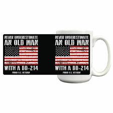 Old Man DD-214 Coffee Mug