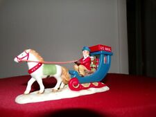 lefton colonial village figurines : Postal Express 00977