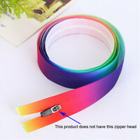 3Yards 3# Colorful Nylon Zippers DIY Garment Tailor Sewing Tool luggage Clothing