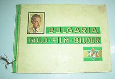 Bulgaria Gold - Film - Bilder Sammelbilderalbum um 1930 Movie stars Schauspieler