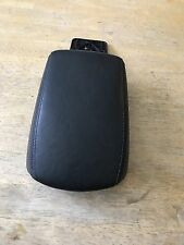 01-03 Volvo S40 Armrest Black Center Console Lid Arm Rest Leather Padded 02 OEM