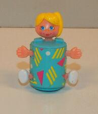"1985 Sweet Secrets 1.75"" Galoob Vintage Action Figure Girl Blue Body Blonde Hair"