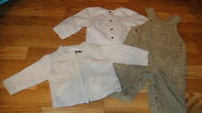 NEW NWOT BOUTIQUE JACADI 6M 6 MONTHS LOT SWEATER OVERALLS SHIRT
