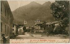 1905 Introbio - Valsassina Un Saluto da ... ed. Grassi  FP B/N VG ANIM