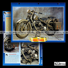 #103.08 Fiche Moto NIMBUS 750 STANDARD 1955 Motorcycle Card