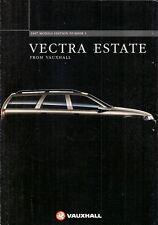 Vauxhall Vectra Estate 1996-97 UK Market Sales Brochure SRi CDX GLS LS Envoy