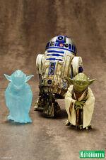 Star Wars Yoda & R2-D2 Dagobah 2-Pack Artfx+ 1/10 PVC Statue KOTOBUKIYA