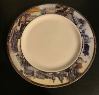 Syracuse China Onondaga Historical Association Rare Clinton Square Plate