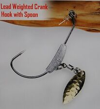 Underspin Weighted Swim Bait Hooks 3 in a Pack