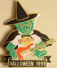 Hard Rock Cafe YOKOHAMA 1999 HALLOWEEN PIN Herrington Teddy Bear HTB