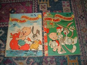 Looney Tunes 8-189 lot of 134 comic books-many earlier issues