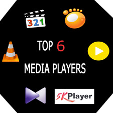 2019- software New MEDIA PLAYERS Collection MKV MPEG4 5K MP4 4K Windows  S best