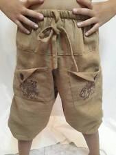 ELEPHANT BOY girl KIDS PANTS Hippie trousers BOHO Elastic BAGGY DANCE rope JUMP