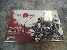 Pauper Soldiers Test of Honour Samurai Honor Minatures Warlord Games Model New!