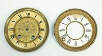 TWO ANTIQUE CLOCK DIALS SP747