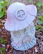 "Latex fairy house mold mushroom casting mould 4"" x 3"""