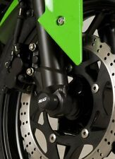 Kawasaki ZX250 Ninja 250R 2010 R&G Racing Fork Protectors FP0129BK Black