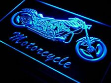 i642-b Motorcycle Bike Sales Services Neon Light Sign