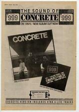 999 UK LP advert 1981