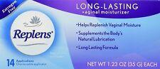 Replens Long-Lasting Vaginal Moisturizer 14 Applications (2 Tubes) Twinpack