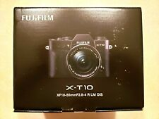 Fujifilm X-T10 Mirrorless Camera & Fujinon XF 18-55mm f/2.8-4 R Lens Photography