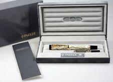 Vintage Parker Duofold Centennial Pearl Füller fountain pen 18 karat gold nib M